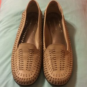 Pair of Leather COVINGTON Loafers-NWOT
